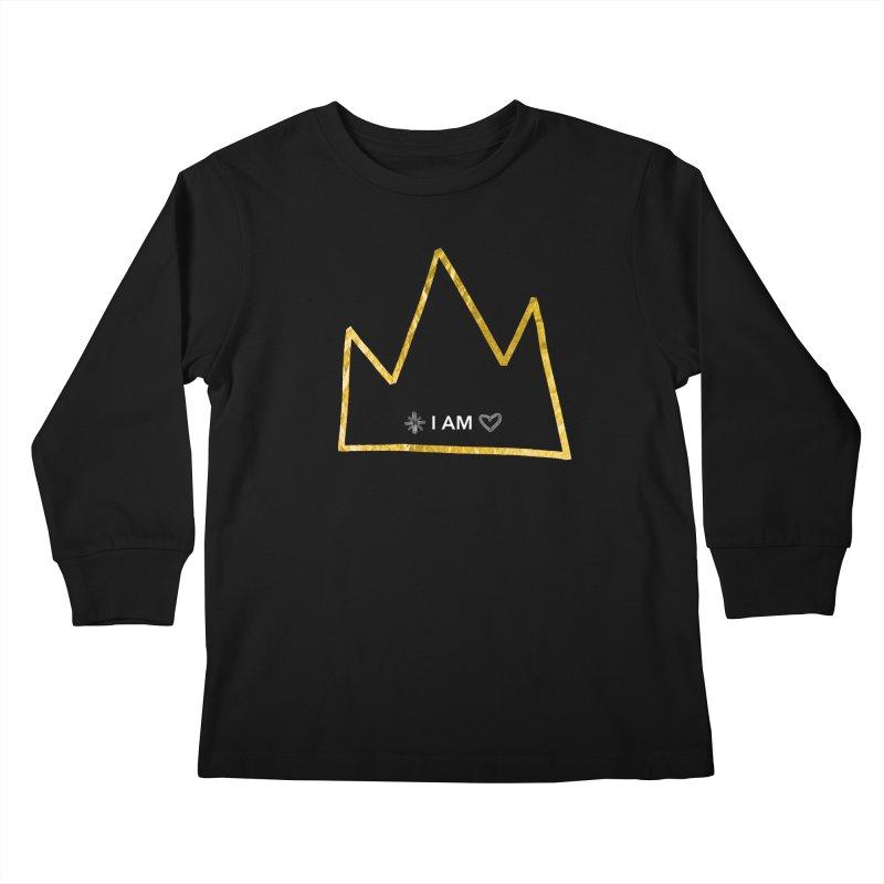 Royalty Kids Longsleeve T-Shirt by Doodles Invigorate's Artist Shop