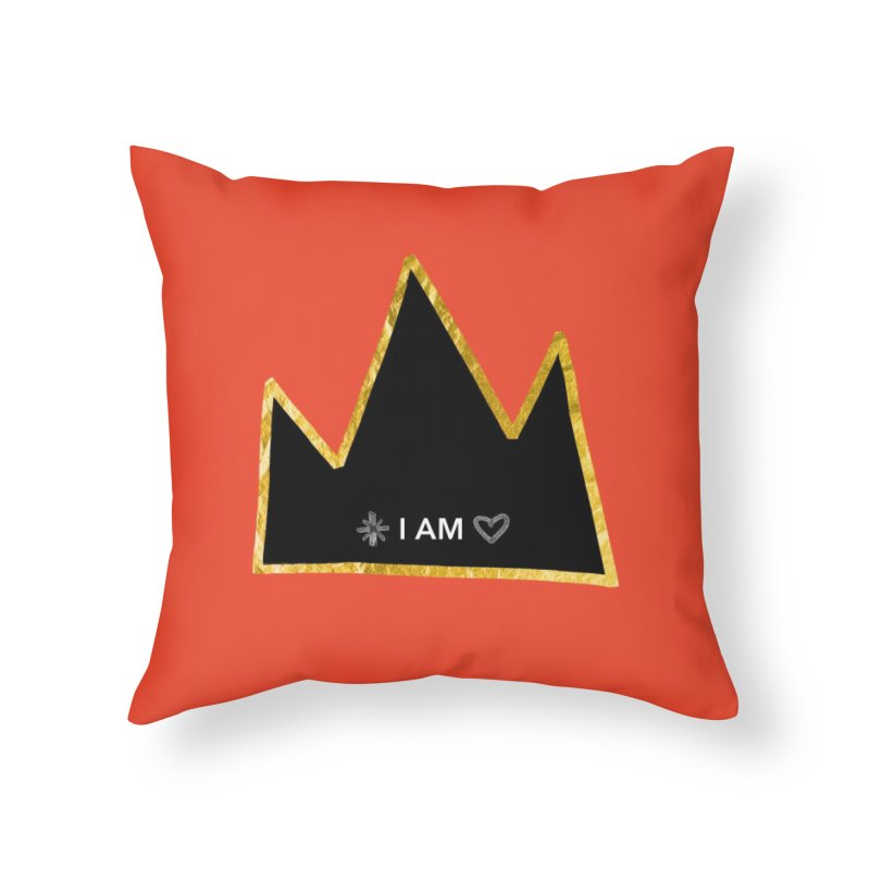 Royalty Home Throw Pillow by Doodles Invigorate's Artist Shop