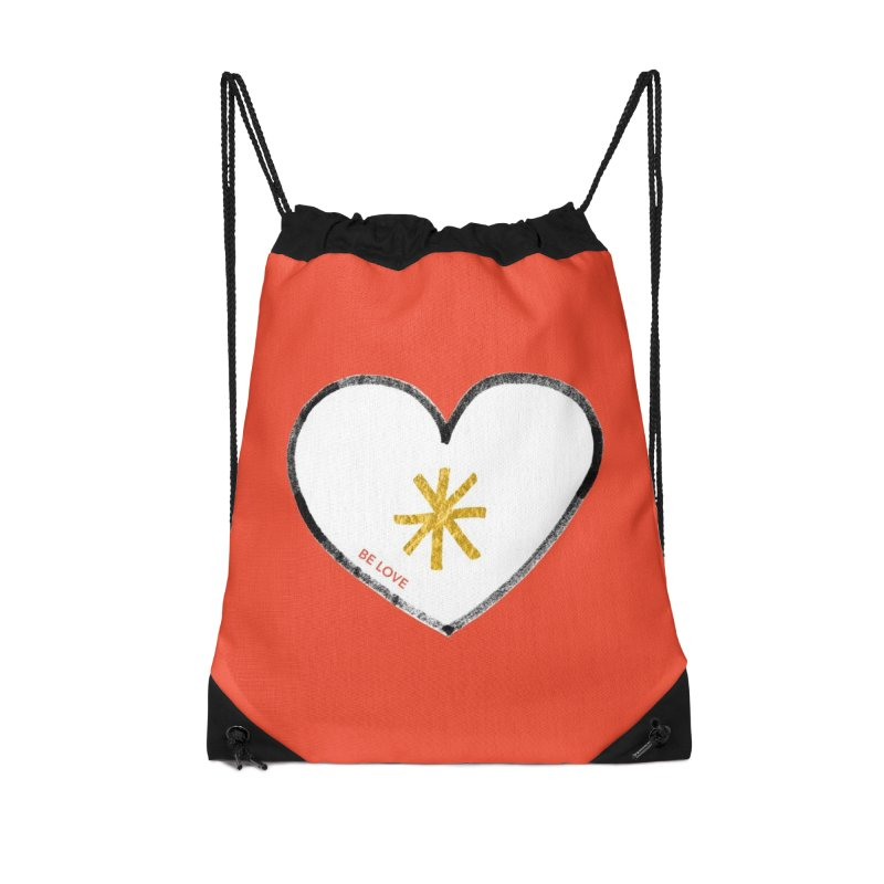 Be Love Accessories Bag by Doodles Invigorate's Artist Shop