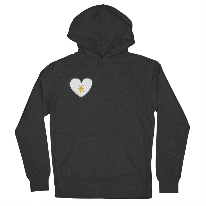 Be Love Women's French Terry Pullover Hoody by Doodles Invigorate's Artist Shop