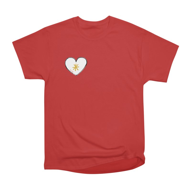 Be Love Women's Heavyweight Unisex T-Shirt by Doodles Invigorate's Artist Shop