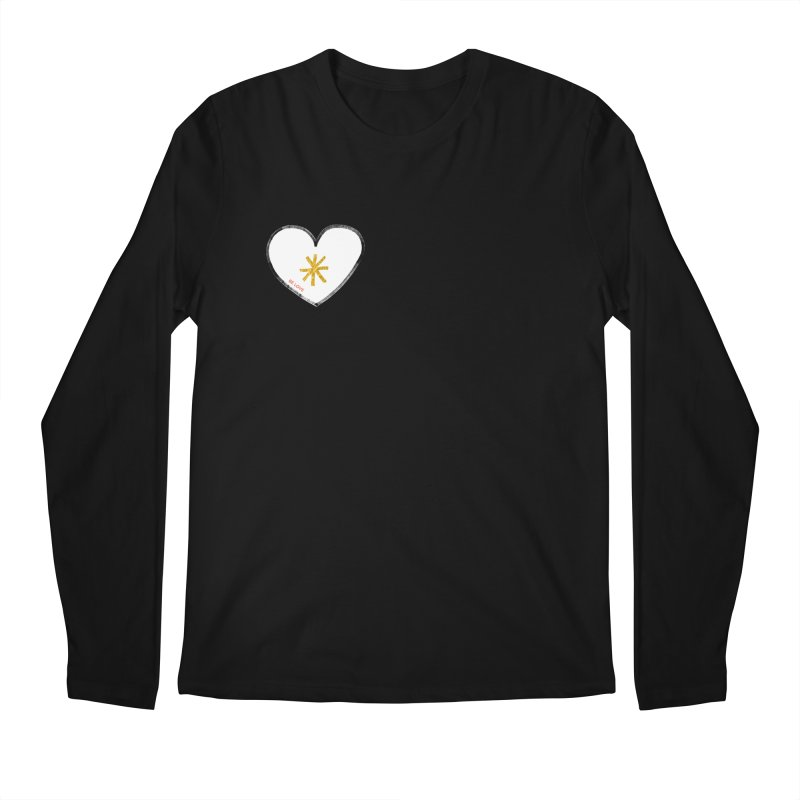 Be Love Men's Regular Longsleeve T-Shirt by Doodles Invigorate's Artist Shop