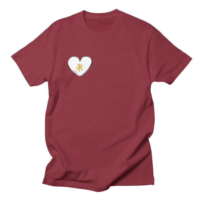 Be Love Men's Regular T-Shirt by Doodles Invigorate's Artist Shop