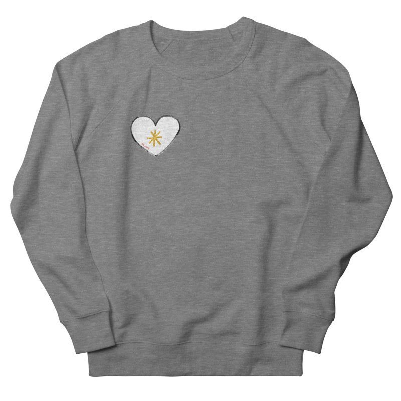 Be Love Men's Sweatshirt by Doodles Invigorate's Artist Shop