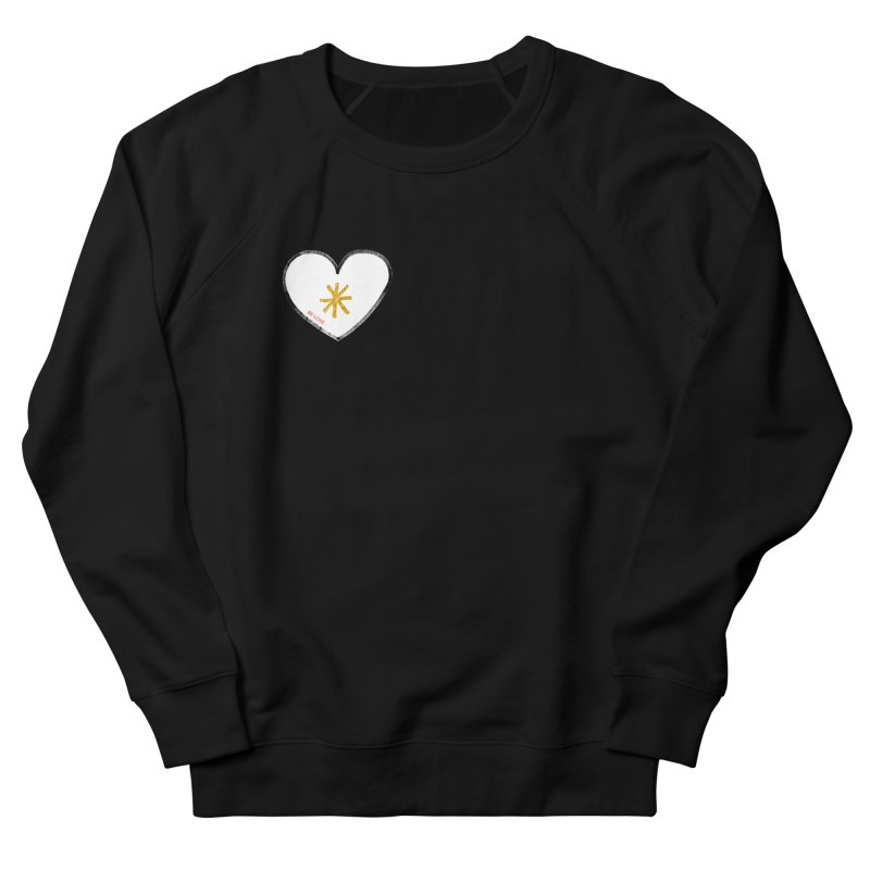 Be Love Men's French Terry Sweatshirt by Doodles Invigorate's Artist Shop