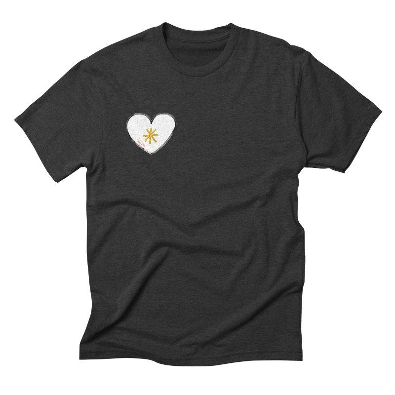 Be Love Men's Triblend T-Shirt by Doodles Invigorate's Artist Shop