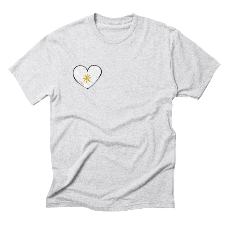 Be Love Men's Triblend T-Shirt by Doodles Invigorate's Artist Shop
