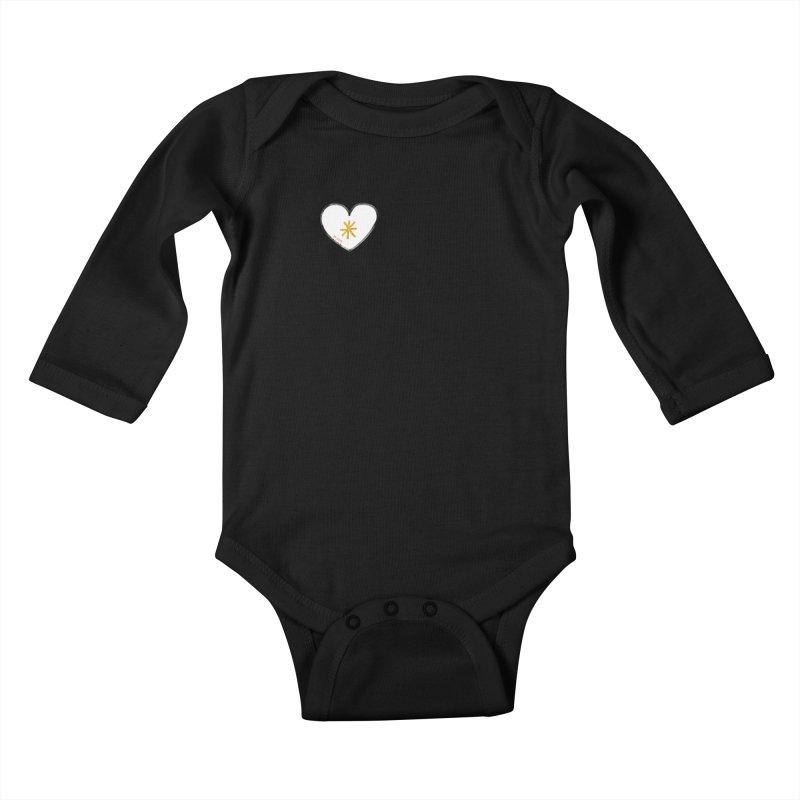 Be Love Kids Baby Longsleeve Bodysuit by Doodles Invigorate's Artist Shop