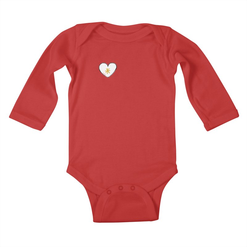 Be Love Kids Baby Longsleeve Bodysuit by Doodles Invigorate's Artist Shop
