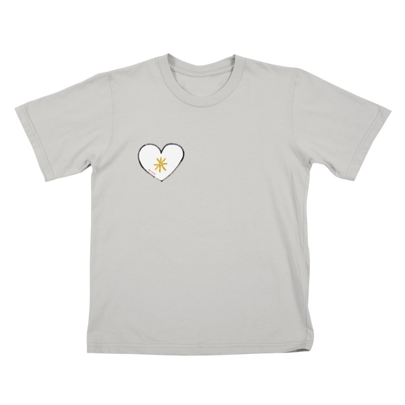 Be Love in Kids T-Shirt Stone by Doodles Invigorate's Artist Shop
