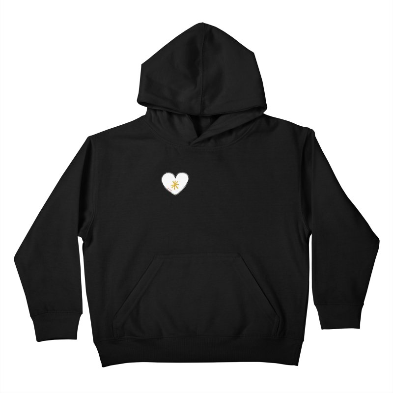 Be Love Kids Pullover Hoody by Doodles Invigorate's Artist Shop