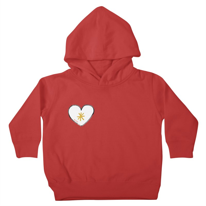 Be Love Kids Toddler Pullover Hoody by Doodles Invigorate's Artist Shop