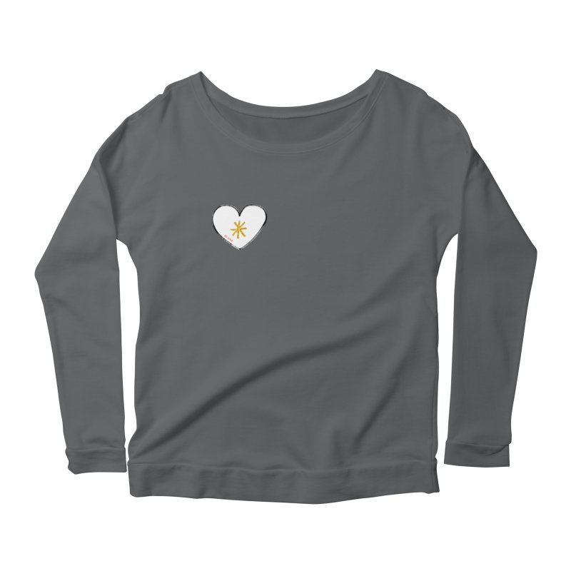 Be Love Women's Scoop Neck Longsleeve T-Shirt by Doodles Invigorate's Artist Shop