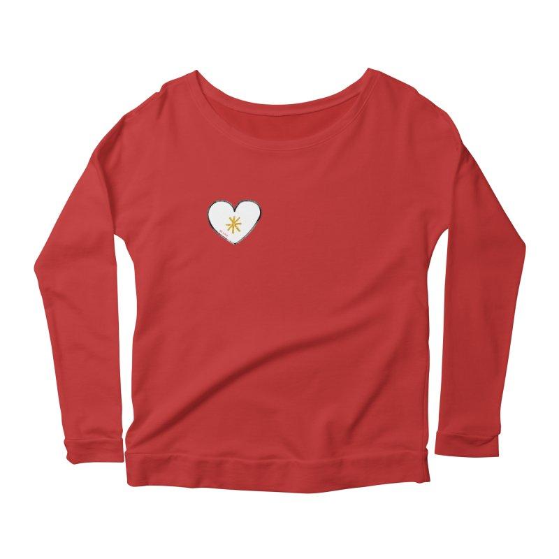 Be Love Women's Scoop Neck Longsleeve T-Shirt by Doodles Invigorate's Artist Shop