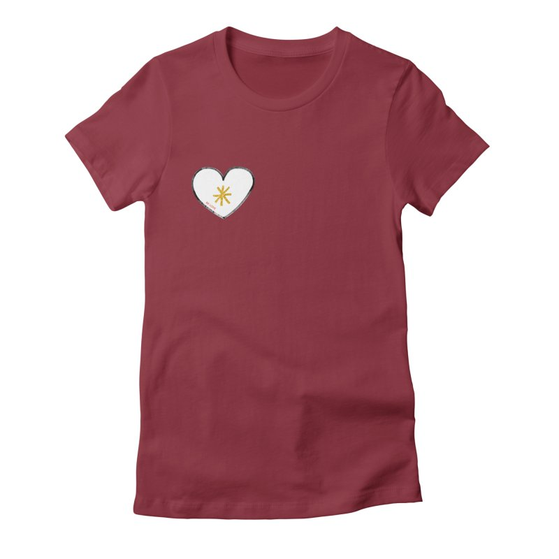 Be Love Women's T-Shirt by Doodles Invigorate's Artist Shop