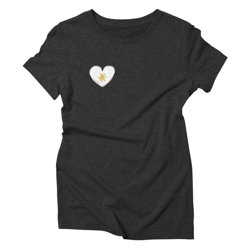Be Love Women's Triblend T-Shirt by Doodles Invigorate's Artist Shop