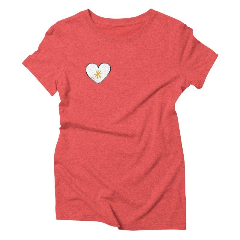 Be Love Women's Triblend T-Shirt by Doodles Invigorate's Artist Shop