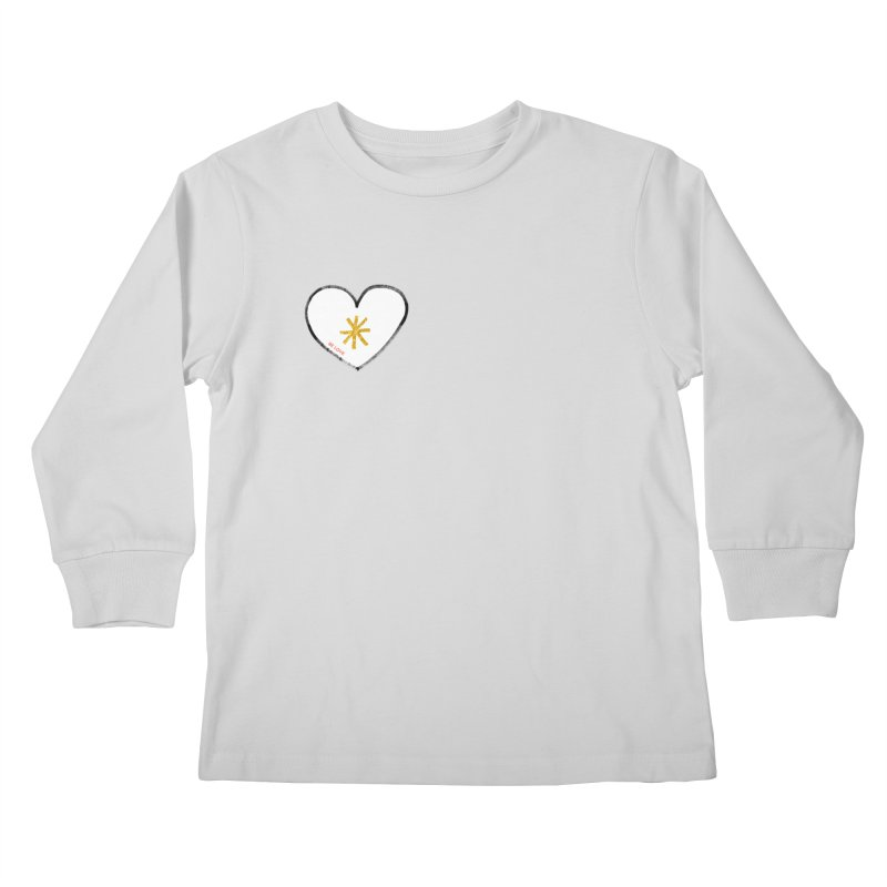 Be Love Kids Longsleeve T-Shirt by Doodles Invigorate's Artist Shop