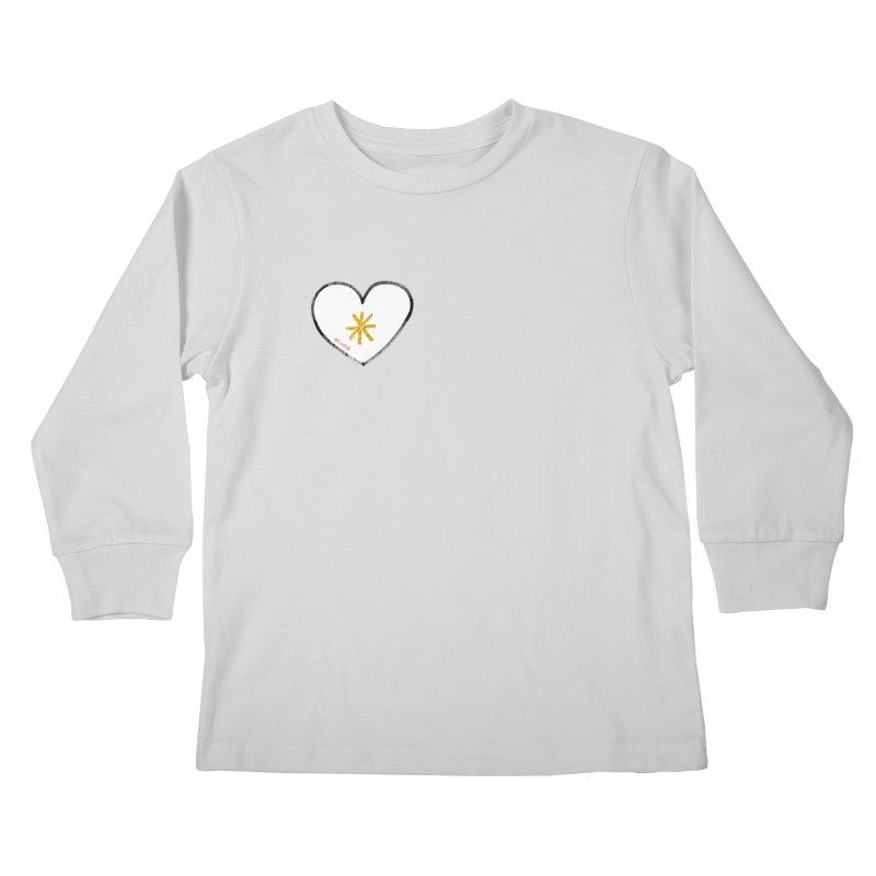 Be Love Kids Longsleeve T-Shirt by Doodles Invigorate's Artist Shop