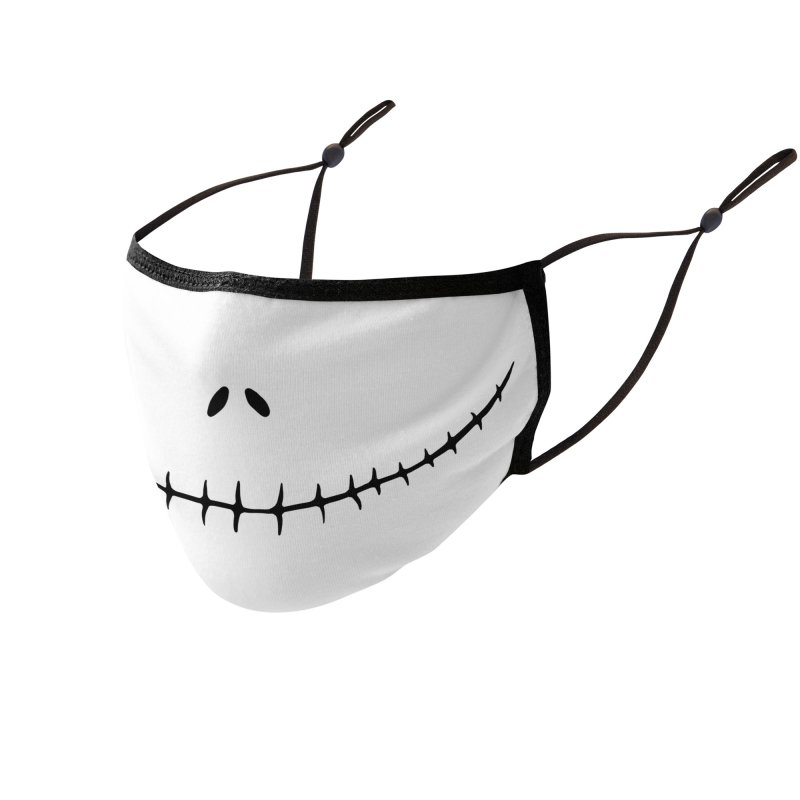 Jack Mask Accessories Face Mask by DoodleToots Design Shop