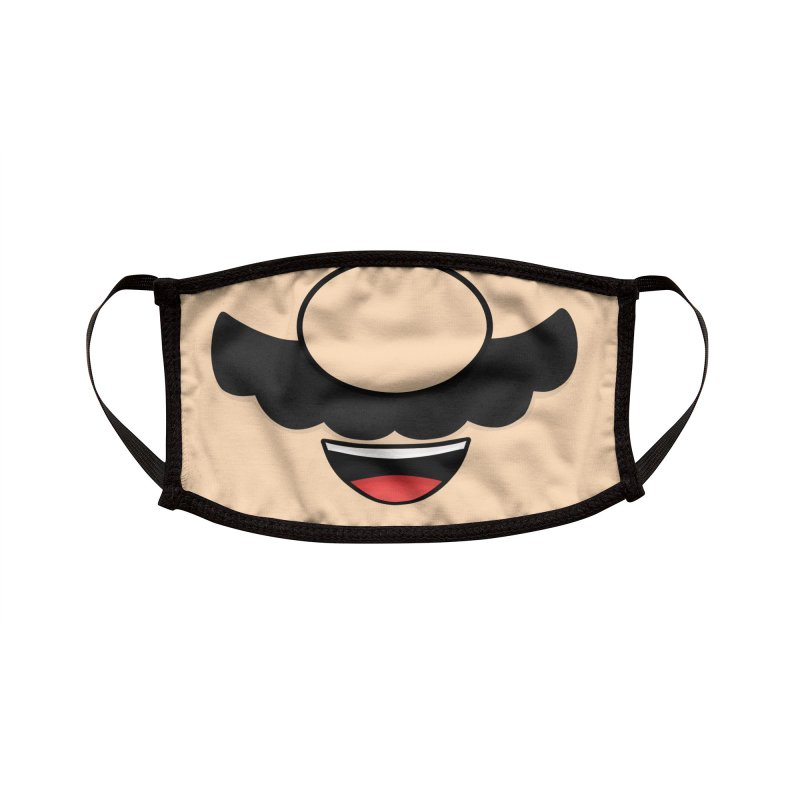 Plumber Mask Accessories Face Mask by DoodleToots Design Shop