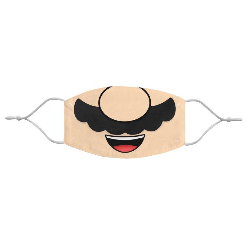 Plumber Mask Accessories Face Mask by DoodleToots Design Shop