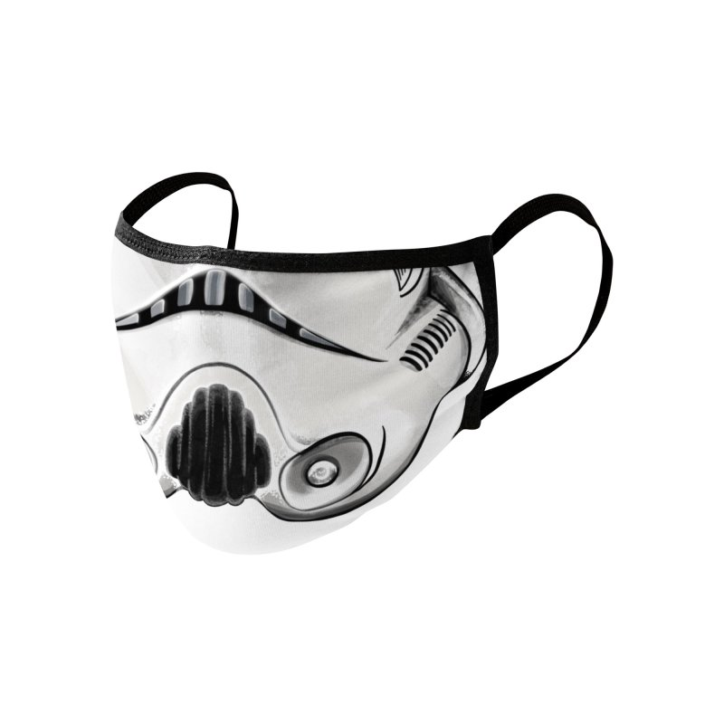 Stormy the Trooper Mask Accessories Face Mask by DoodleToots Design Shop