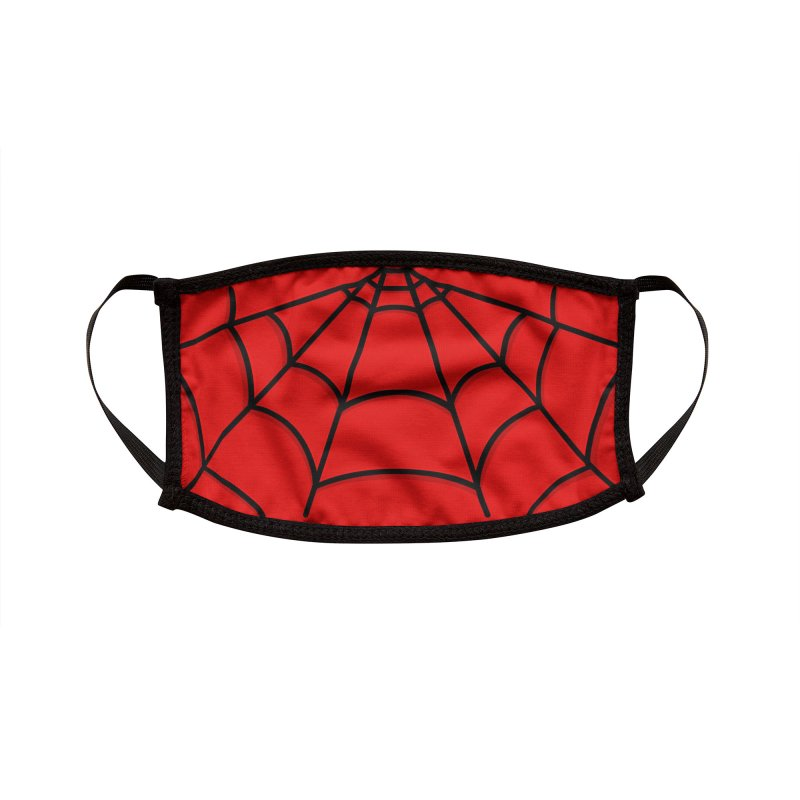 Amazing Man Spider Accessories Face Mask by DoodleToots Design Shop