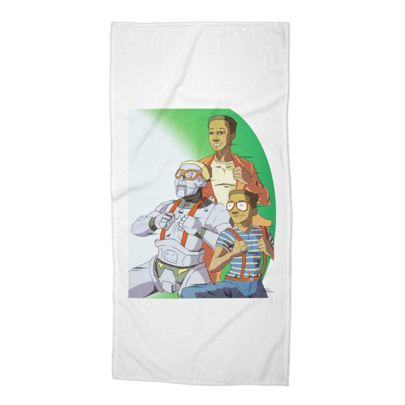 Urked Accessories Beach Towel by DoomBotics's Artist Shop
