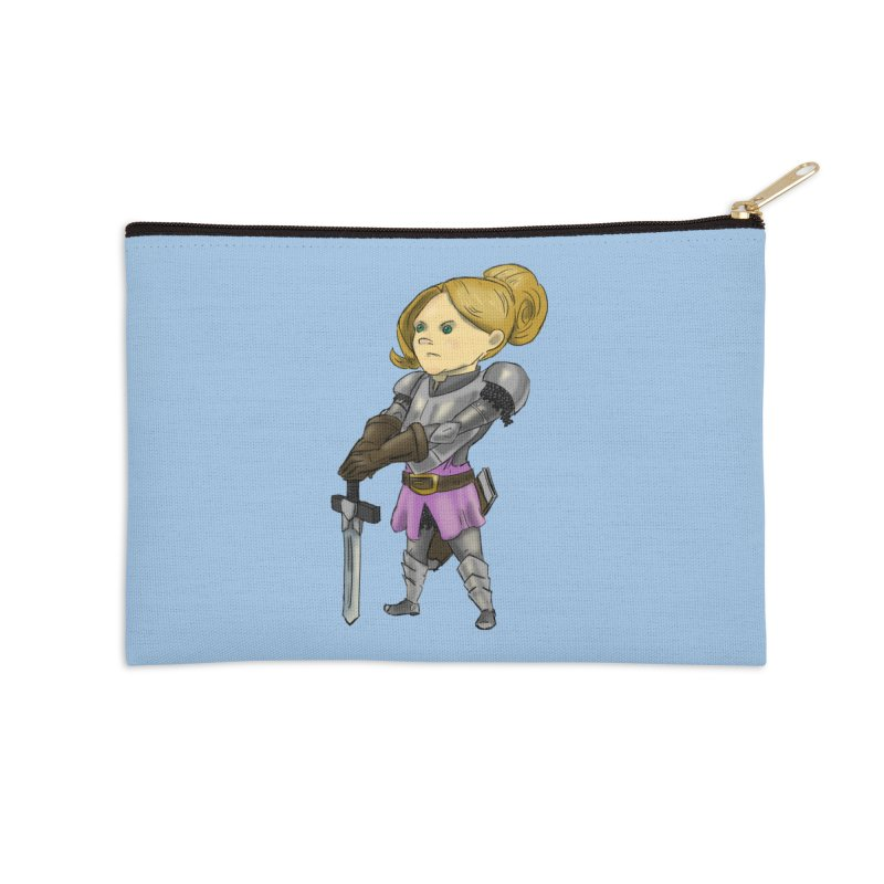 Knight Class Accessories Zip Pouch by DoomBotics's Artist Shop