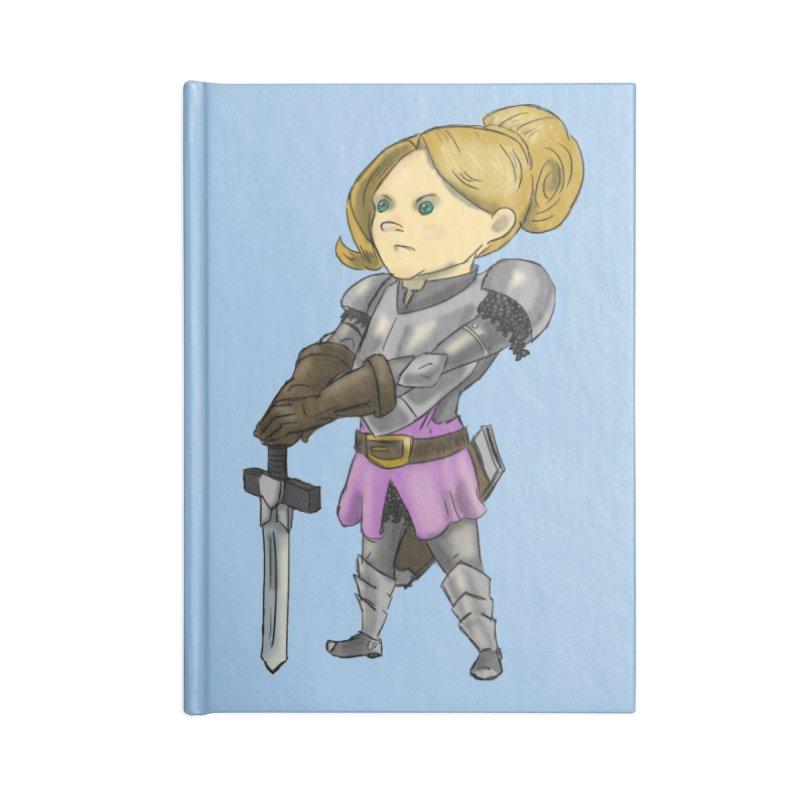 Knight Class Accessories Notebook by DoomBotics's Artist Shop