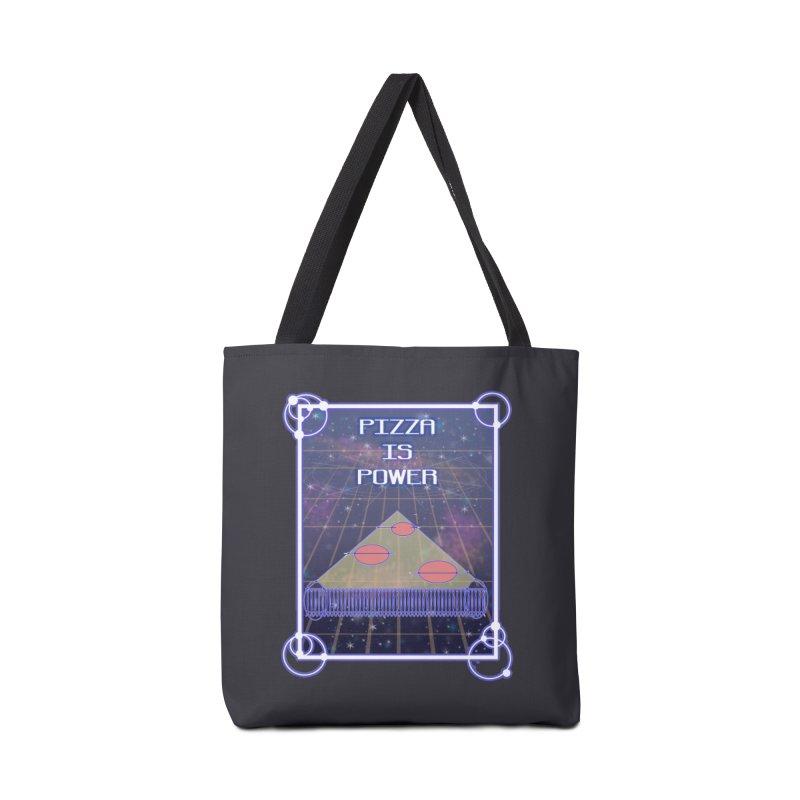 Pizza is Power Accessories Bag by DoomBotics's Artist Shop