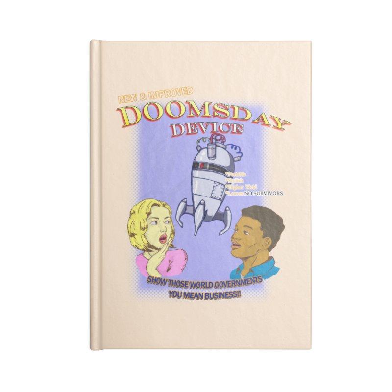Doomsday Device Accessories Notebook by DoomBotics's Artist Shop