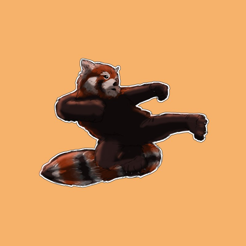 RedPanda Kick Women's T-Shirt by DoomBotics's Artist Shop