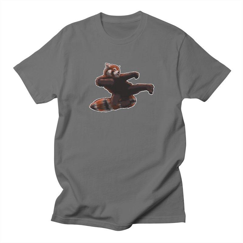 RedPanda Kick Men's T-Shirt by DoomBotics's Artist Shop