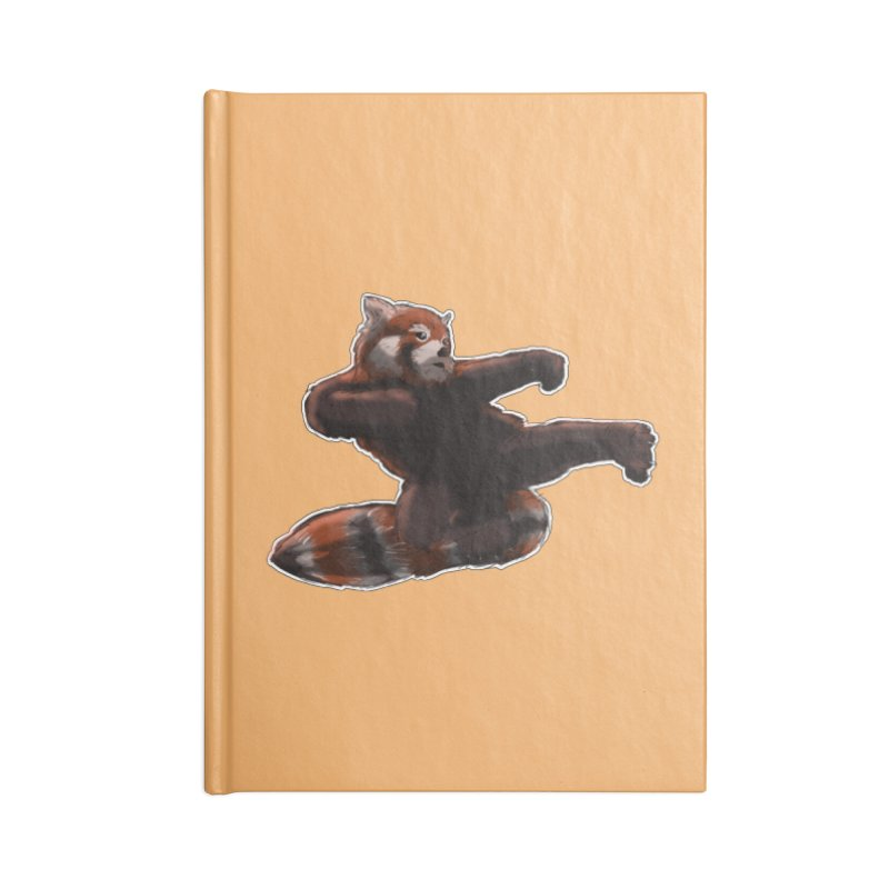 RedPanda Kick Accessories Notebook by DoomBotics's Artist Shop
