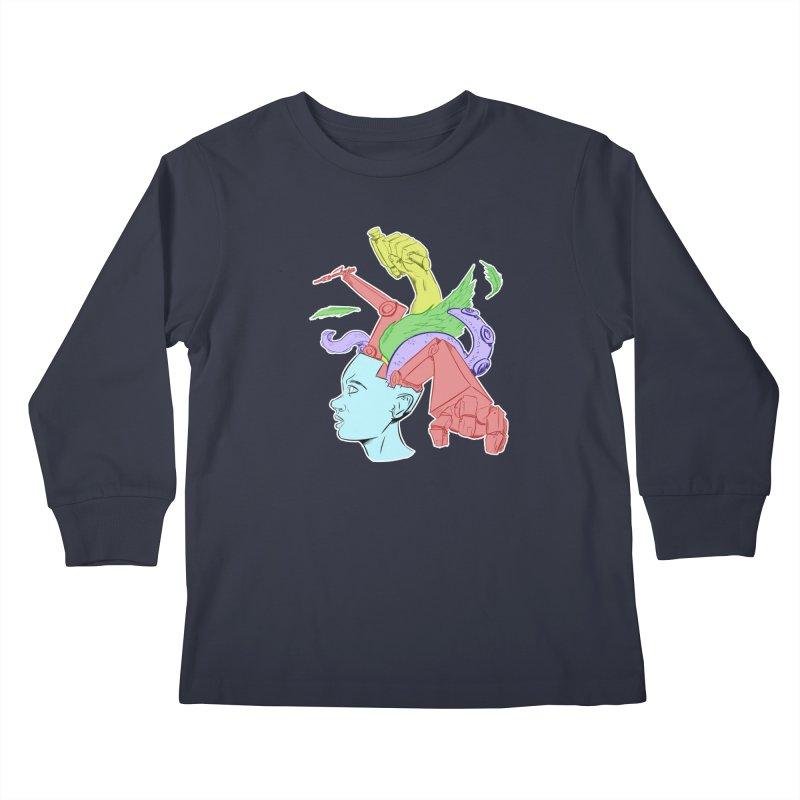 Creative Minds Kids Longsleeve T-Shirt by DoomBotics's Artist Shop
