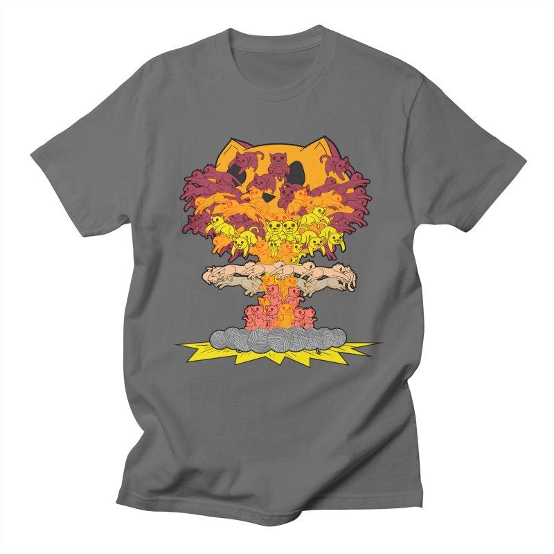 Cat-tastrophe Men's T-Shirt by DoomBotics's Artist Shop