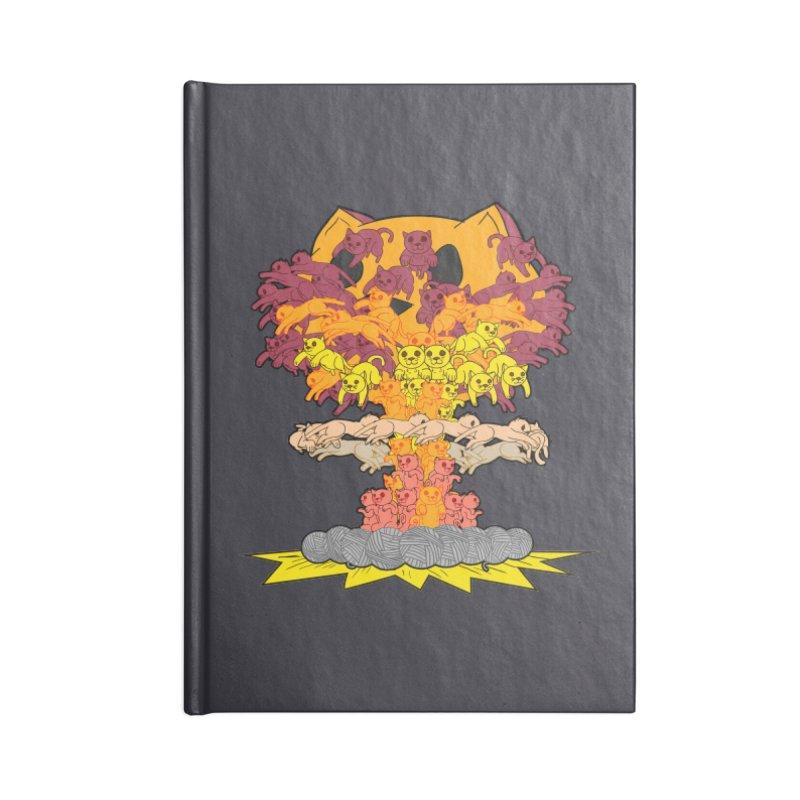 Cat-tastrophe Accessories Notebook by DoomBotics's Artist Shop
