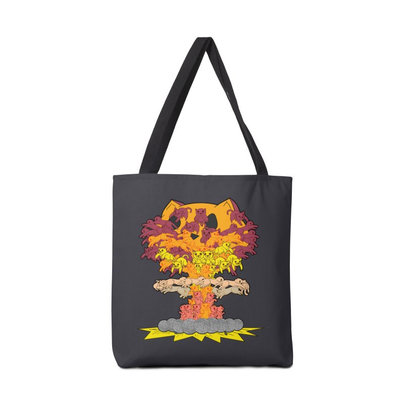 Cat-tastrophe Accessories Bag by DoomBotics's Artist Shop