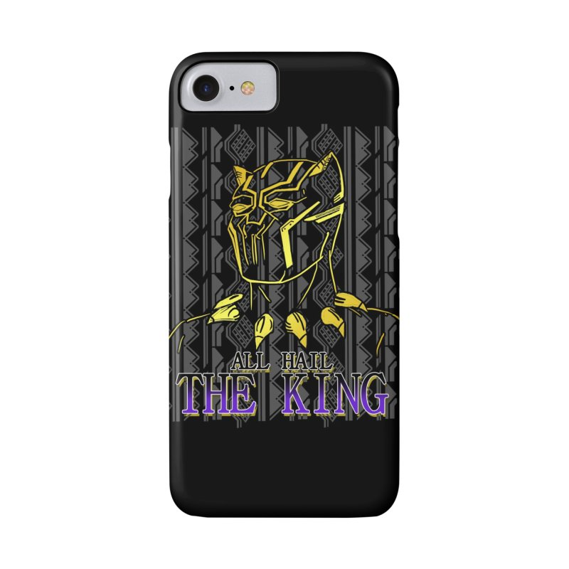 All Hail The King Accessories Phone Case by DoomBotics's Artist Shop