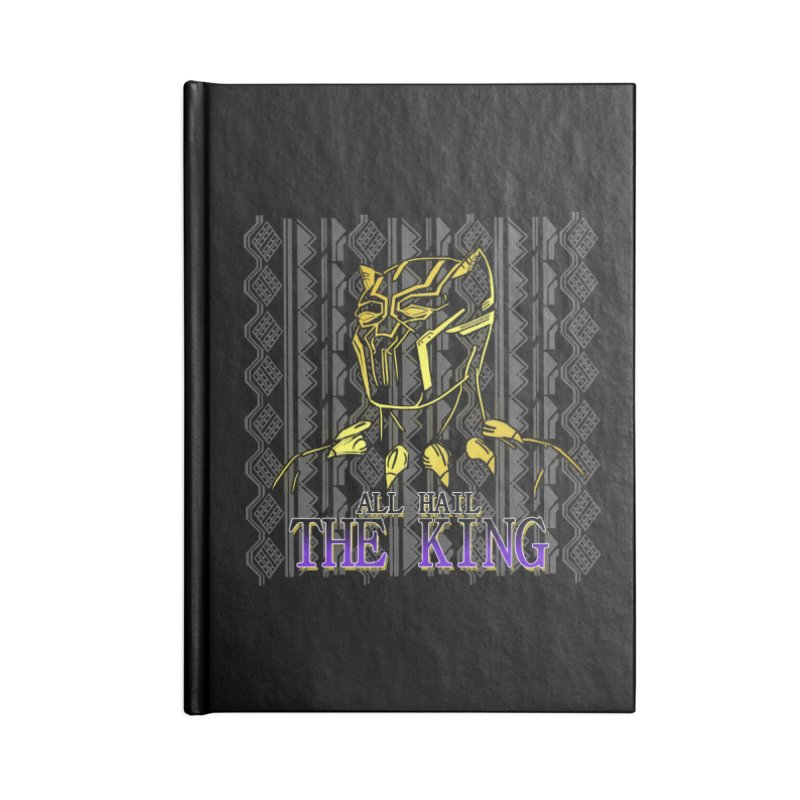 All Hail The King Accessories Notebook by DoomBotics's Artist Shop