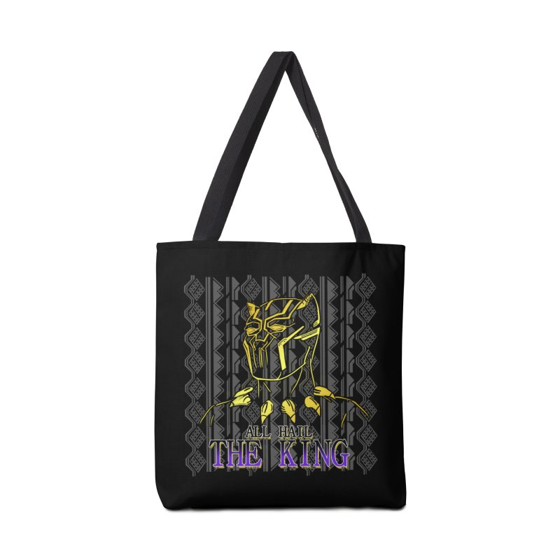 All Hail The King Accessories Bag by DoomBotics's Artist Shop
