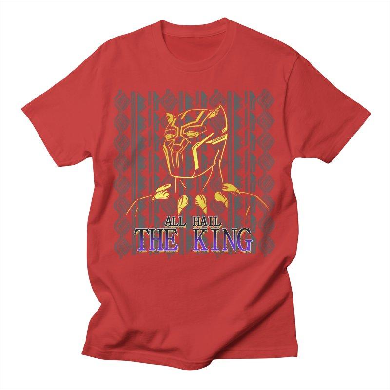 All Hail The King Men's T-Shirt by DoomBotics's Artist Shop