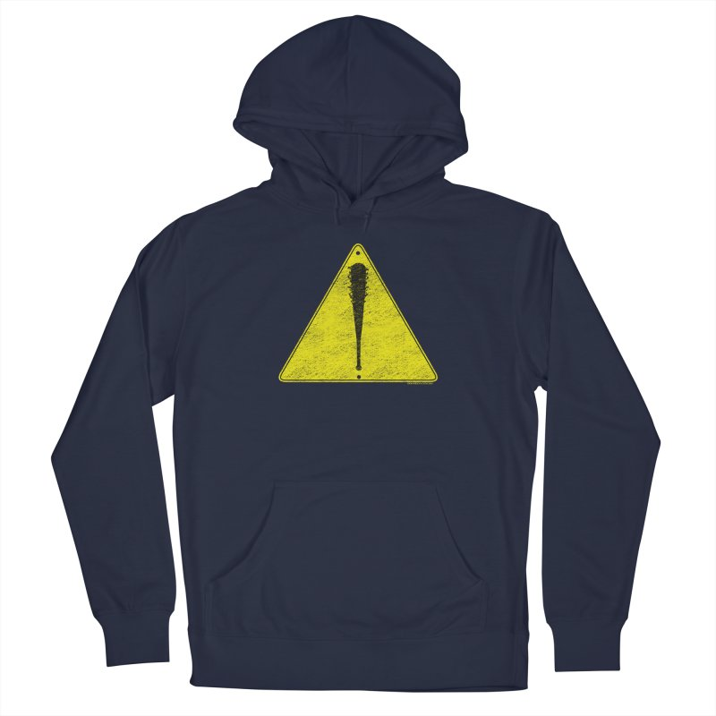 Caution Ahead distressed Men's Pullover Hoody by doombxny's Artist Shop
