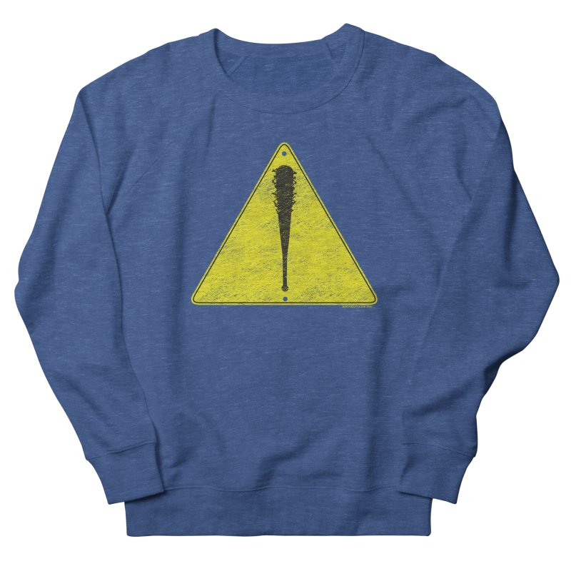 Caution Ahead distressed Men's Sweatshirt by doombxny's Artist Shop