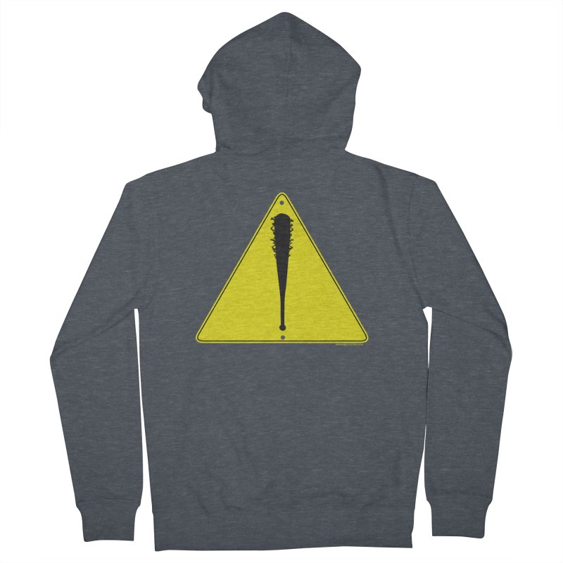 Caution Ahead Men's Zip-Up Hoody by doombxny's Artist Shop
