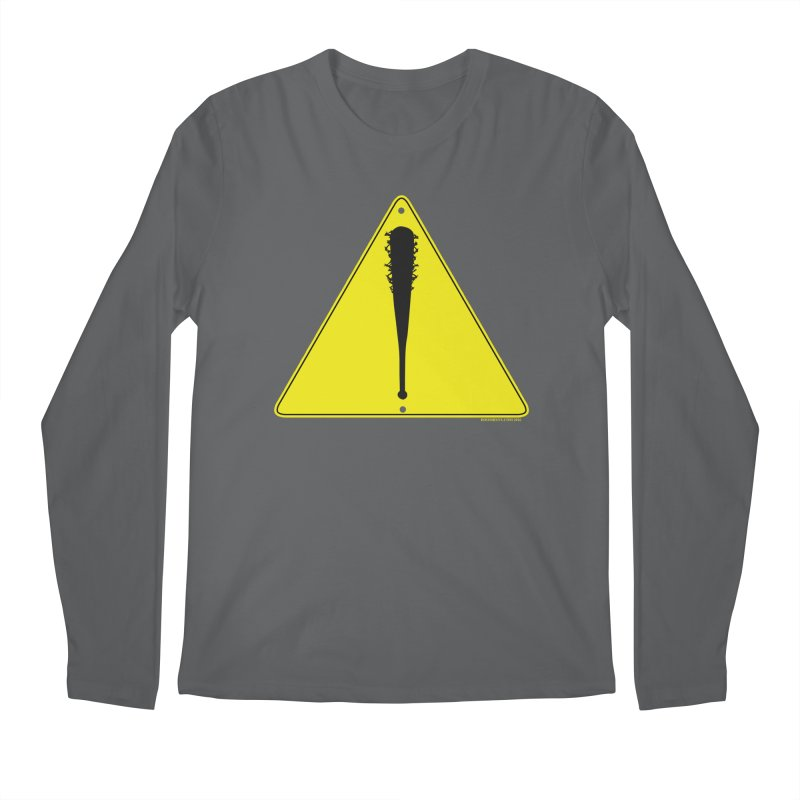 Caution Ahead Men's Longsleeve T-Shirt by doombxny's Artist Shop