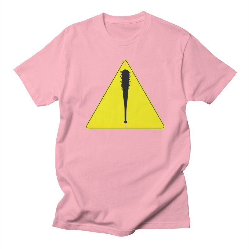 Caution Ahead Men's T-Shirt by doombxny's Artist Shop