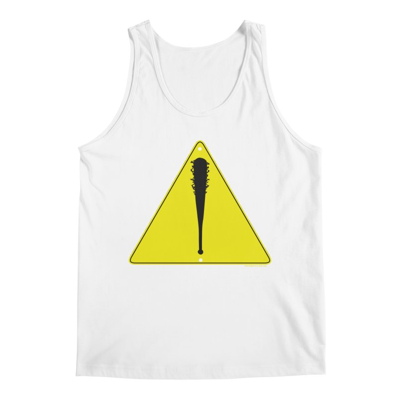 Caution Ahead Men's Tank by doombxny's Artist Shop